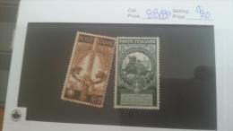 LOT 224519 TIMBRE DE ITALIE NEUF* N�88/89 VALEUR 20 EUROS