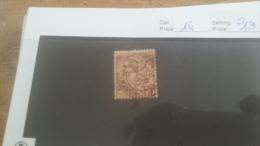 LOT 224547 TIMBRE DE MONACO OBLITERE N�14 VALEUR 19 EUROS