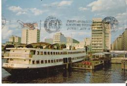 Rio De Janeiro  Porto Nterbi  Ferryboat Niteroil Port   Port-du-Niteroi   Petit Bateau - Rio De Janeiro