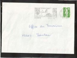 FLAMME 68 ILLFURTH - Marcophilie (Lettres)