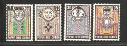 Papua New Guinea 1977 Legends & Myths Set 4 MNH - Papouasie-Nouvelle-Guinée