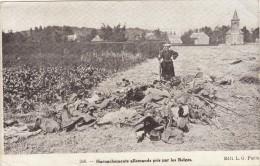 HARNACHEMENT ALLEMAND PRIS PAR LE BELGES   ///// REF SEPT 14 / N° 4080 - Patriotic