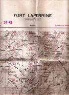 Algerie- CARTE MYRIAMETRIQUE-FORT LAPERINE-TAMANRASSET(ASSEKREM) - Cartes Topographiques