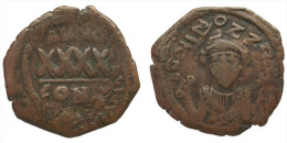 AE Follis - Phocas (602-610 AD) Byzantine Empire - Byzantine