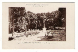 OUBANGUI-CHARI / MISSION DES PÈRES DU SAINT-ESPRIT / SAINT-PAUL-des-RAPIDES / LE CHAMP DE REPOS ( Cimetière )/ JAMAIS VU - Cartes Postales