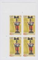 2007.176 CUBA 2007 MNH IMPERFORATED PROOF. BLOCK 4. YORUBA RELIGION. CHANGO. DANZA. DANCE. CONJUNTO FLORKLORICO NACIONAL - Sin Dentar, Pruebas De Impresión Y Variedades