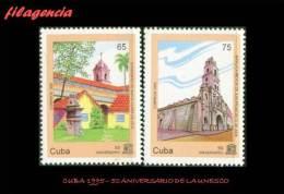 CUBA MINT. 1995-18 CINCUENTENARIO DE LA UNESCO. LA HABANA VIEJA. PATRIMONIO UNESCO - Cuba
