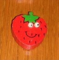 Magnet : Thème Les Fruits & Légumes  - Fraise - Umoristiche