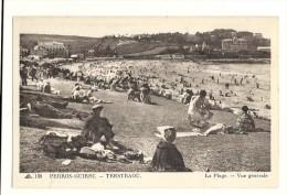 Cp, 22, Perros-Guirec - Trestaou, La Plage, Vue Générale - Perros-Guirec