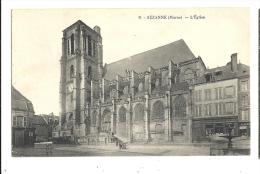 Cp, 51, Sézanne, L'Eglise, écrite 1930 - Sezanne