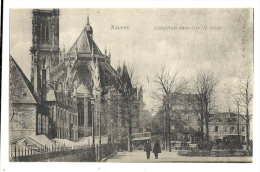 Cp, 58, Nevers, Cathédrale St-Cyr - Nevers