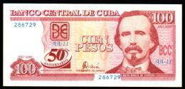 C / 100 PESOS 2000 serie AA-11 50TH ANNIVERSARY PICK 120  UNC RARE
