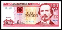 C / 100 PESOS 2005  serie AD-10 071039 PICK NEW UNC