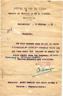 CHEMINS DE FER DE L'ETAT  Service Du Matériel Et De La Traction  CARTE D'IDENTITE 2e Classe1915 Sotteville - Spoorweg