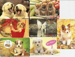 Japon ¤ Thème Chiens - Lot De 15 Cartes Différentes - Honden