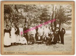 SUPERBE- LE TOUQUET Paris-plage-62-personnel Restaurant Dans Forêt (hermitage?) Cuisiniers, Maître D´hotel -VIJARD - Photographs