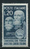Italia 1950 Nuovo** - Lanieri - 6. 1946-.. Repubblica