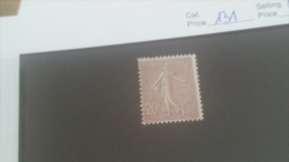 LOT 224613 TIMBRE DE FRANCE NEUF* N�131 VALEUR 77 EUROS