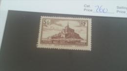 LOT 224644 TIMBRE DE FRANCE NEUF* N�260 VALEUR 25 EUROS