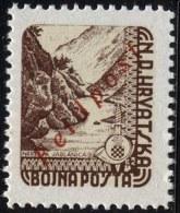 CROATIA - HRVATSKA - NDH - WW II - MILITAR COILS STAMPS - FELDPOST - **MNH - 1945 + PUNC. - Croazia