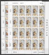 Europa Cept 1992 Faroe Islands 2v 2 Sheetlets ** Mnh (F2123) - Europa-CEPT