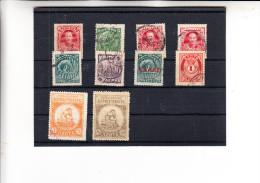 KRETA - Lot 10 Briefmarken O Gestempelt - Kreta