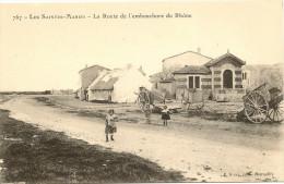 13/ Les Saintes Maries - La Route De L Enbouchure Du Rhone - Edition Ruat N° 767 - - Saintes Maries De La Mer