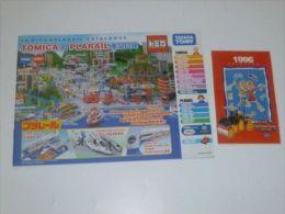 VINTAGE !! 1996 JOAL COMPACT / 2006 TOMICA & PLARAIL CATALOGUE /  CATALOGS - Autres Collections