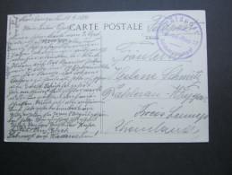 1914 , MAUBEUGE ,   Carte  Militaire  ,  2 Scan - WW I