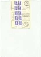 ORDRE DE REEXPEDITION TEMPORAIRE - Cartas