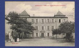 WW - CPA  AUDE (11) - ARMISSAN - CHATEAU DE MARMORIERES -M- DE RAMON - - France