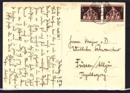 Allemagne - Empire - Carte Postale De 1936 - Oblitération Neues Lager Jüterbog - Camp Militaire - Briefe U. Dokumente