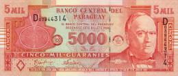 Paraguay 5000 Guaranies 2005 Pick 223 UNC - Paraguay