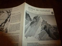 MASSIF Du MONT-BLANC Fiche 8, Par Compagnie Des Guides De Chamonix : ARÊTES DE ROCHEFORT  La Traversée - Other Collections