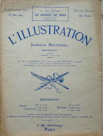 ILLUSTRATION N° 3720 / 13-06-1914 RIBOT BIPLAN TAZA CRINILINE VERA-CRUZ EMPRESS OF IRELAND ALEXANDRIE S. LENGLEN NANCY - Journaux - Quotidiens