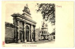 CPA 37 Indre Et Loire Tours Portail De L'Archevêché - Tours