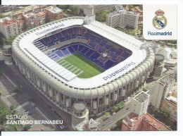"ESTADIO - STADIUM - STADE - STADIO - STADION "" SANTIAGO BERNABEU "" .- MADRID - ( ESPAÑA ) - Fútbol"