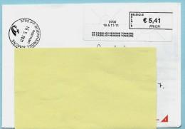 Blaster - 3700 PP DAGBLADH SIMONS TONGEREN Op Aanget. Zending - Vignettes D'affranchissement