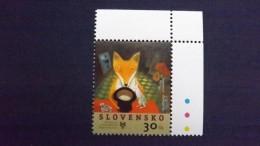 """Slowakei 516 **/mnh, Illustration Von Iku Dekune (*1969) Zu Dem Märchen """"Das Meerhäschen"""" Von Den Brüdern Grimm - Nuevos"""
