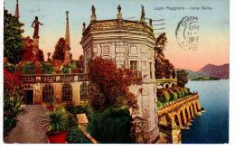 Italie  ISOLA  BELLA  1929   Lago  MAGGIORE + Scanner Verso Piemont Piemonte - Italia