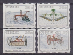 Ciskei 1992 Agriculture Implements 4v ** Mnh (17226) - Ciskei
