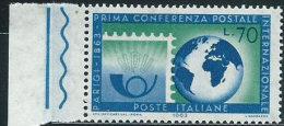 Italia 1963 Nuovo** - Conferenza UPU - 1961-70:  Nuovi
