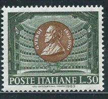 Italia 1963 Nuovo** - Verdi - 1961-70:  Nuovi