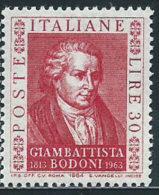 Italia 1964 Nuovo** - Bodoni - 1961-70:  Nuovi