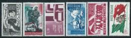 Italia 1965 Nuovo** - Resistenza 6v Completa - 6. 1946-.. Repubblica