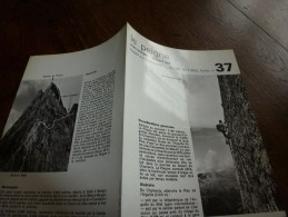 MASSIF Du MONT-BLANC Fiche 37,  Par Compagnie Des Guides De Chamonix : LE PEIGNE Voie Normale - Versant Sud - Autres Collections