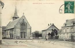 Depts Divers- Eure  - Ref P695 -  Routot - La Place De L Eglise - Carte Bon Etat - - Routot