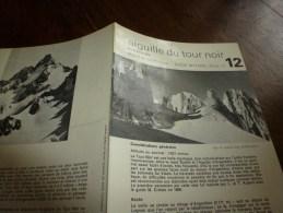 MASSIF Du MONT-BLANC Fiche 12,  Par Compagnie Des Guides De Chamonix : AIGUILLE DU TOUR NOIR En Traversée - Other Collections