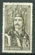 ROMANIA 1957: YT 1504 / Mi 1634, O - LIVRAISON GRATUITE A PARTIR DE 10 EUROS - 1948-.... Républiques