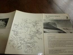 MASSIF Du MONT-BLANC Fiche 30 ,par Compagnie Des Guides De Chamonix: LA PERSEVERANCE Arête Nord-Est - Autres Collections